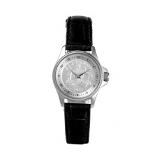 Lifestyle Sixpence Silver / Black leather